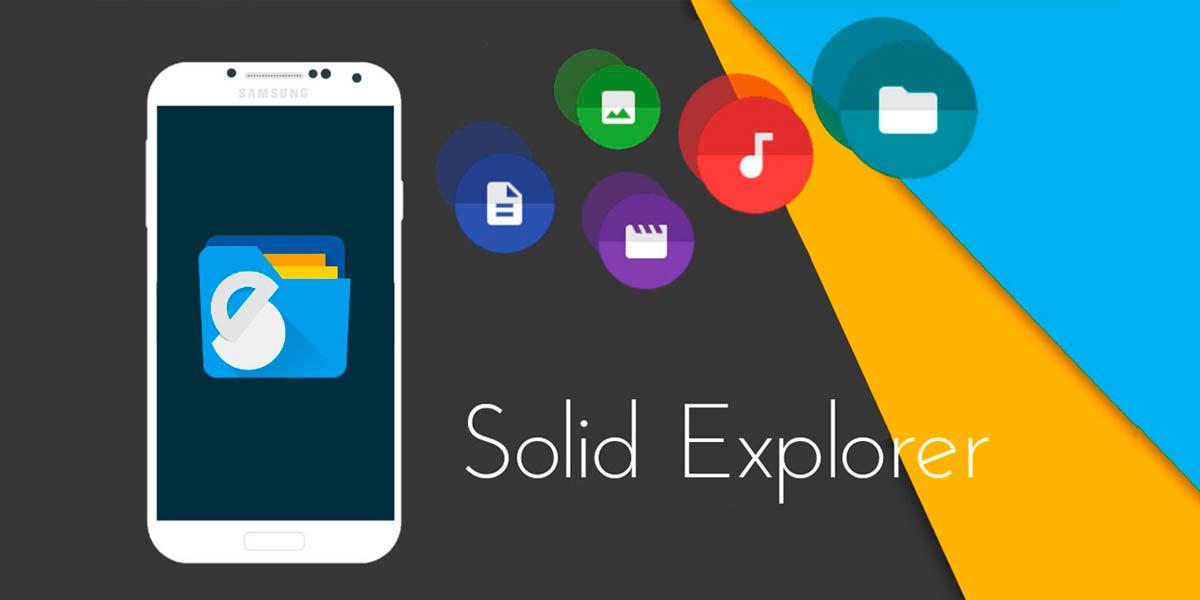 solid explorer el mejor administrador de archivos para usar con Chromecast