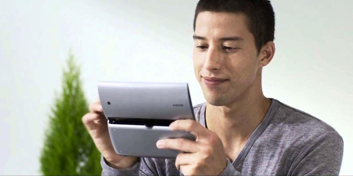 sony tablet p pionero en tablets plegables