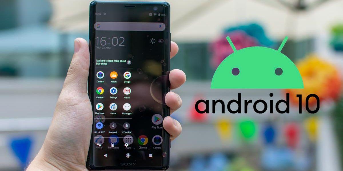 sony xperia xz3 android 10