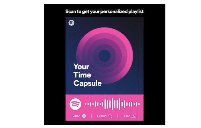 spotify capsula del tiempo