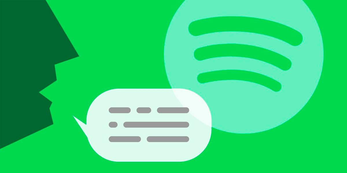spotify comandos de voz