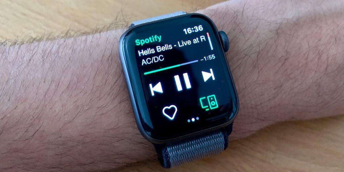 spotify en smartwatch