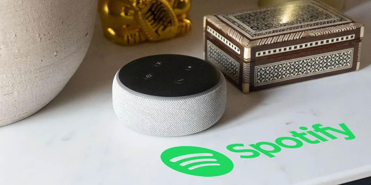 spotify gratis ya es compatible con alexa de amazon