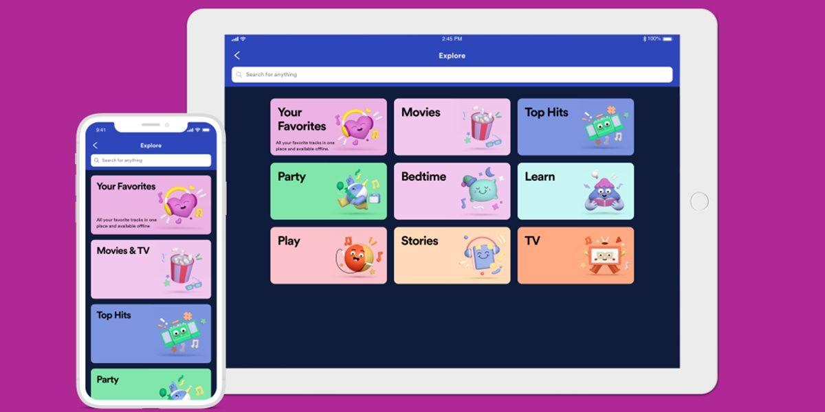 spotify kids nueva app