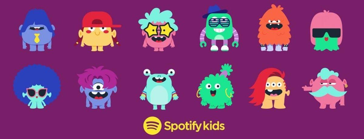 spotify crianças para crianças