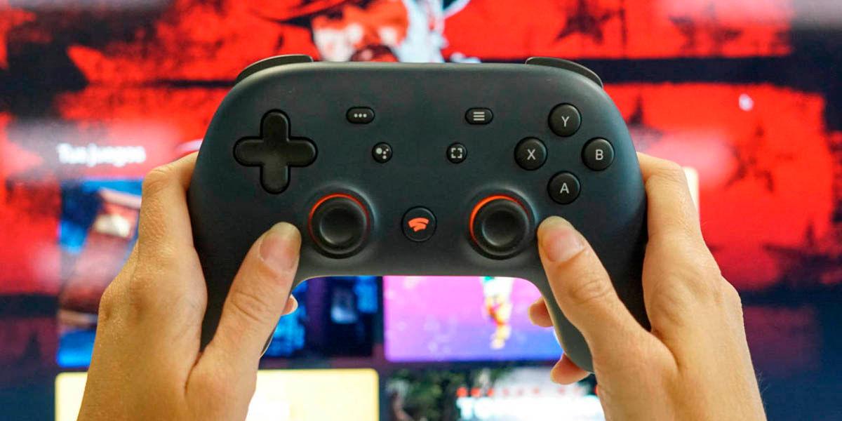 stadia chrome android tv instalar jugar