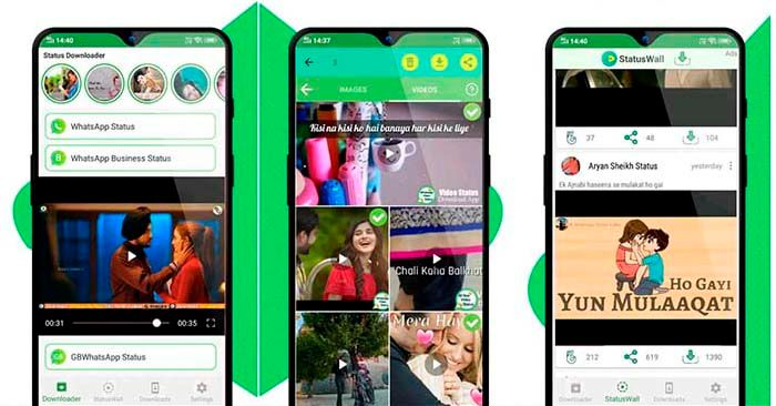 status downloader para whatsapp y video descargar