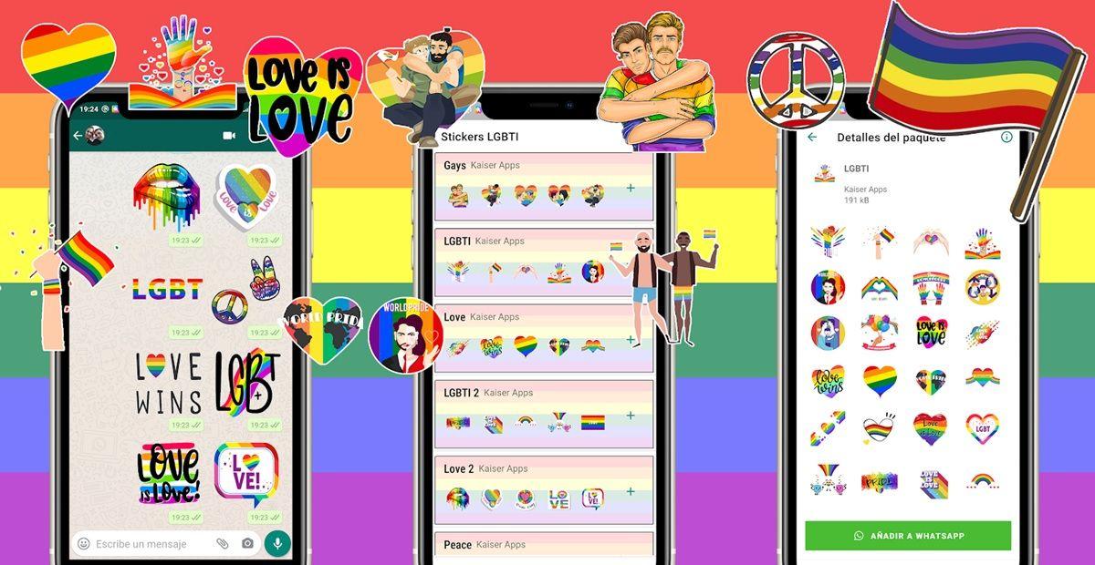 stickers animados gay whatsapp