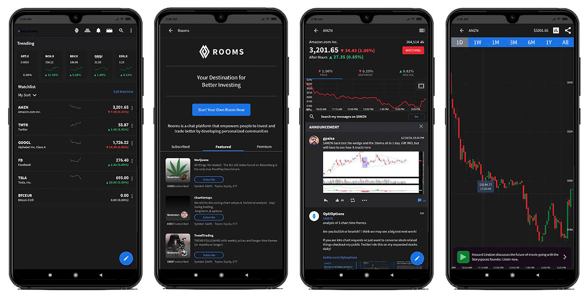 stocktwits red social inversores android