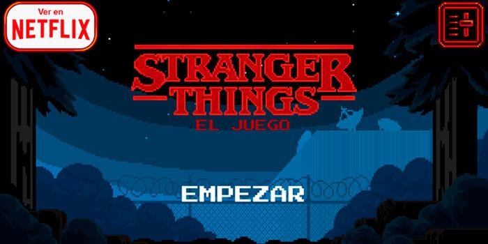 Stranger Things juego android descargar