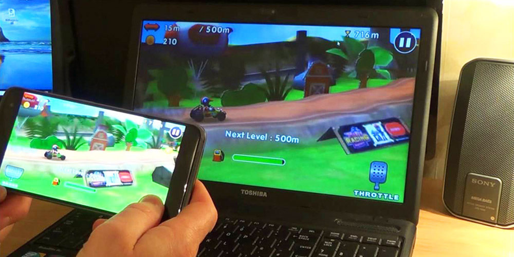 streaming movil android en pc