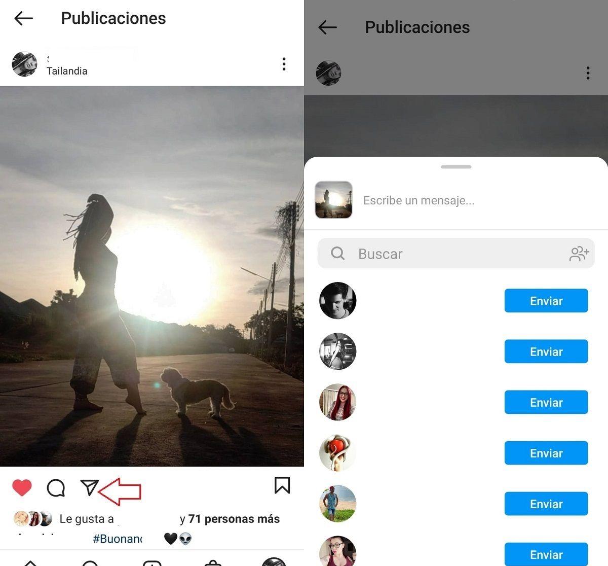 subir publicacion stories instagram
