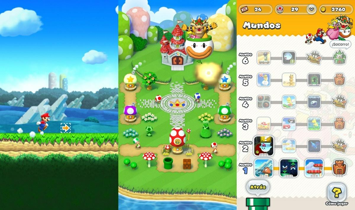 super mario run android ios