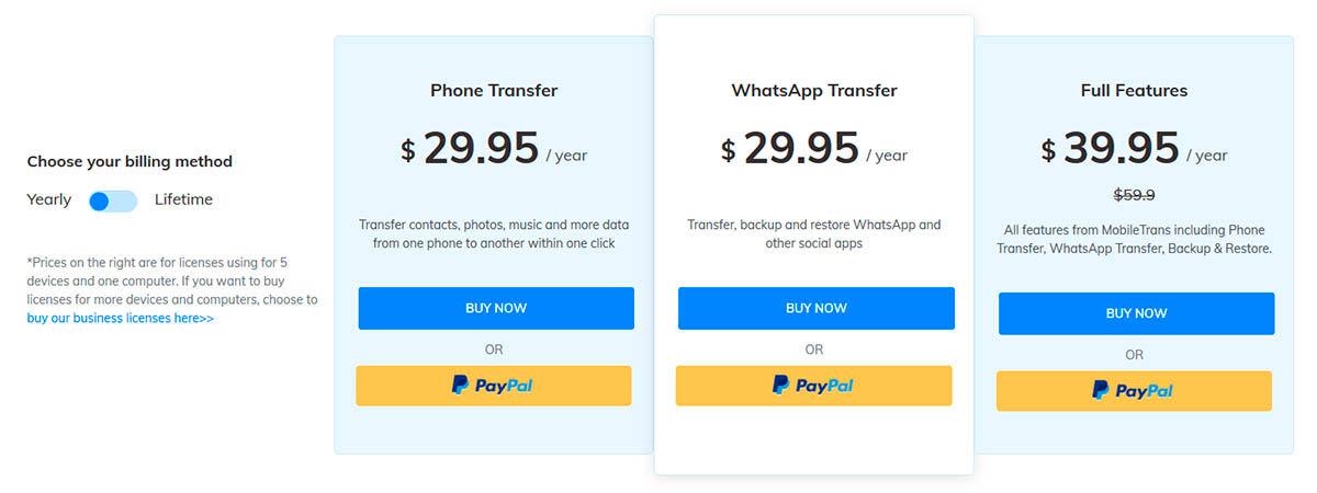 suscripción premium mobiletrans 40% descuento