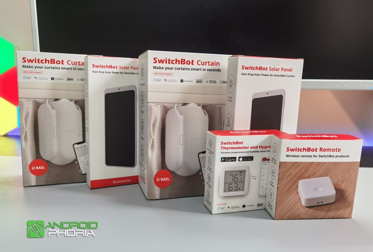 switchbot curtain cajas