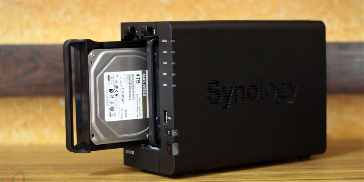 synology servidor nas con 4 TB hdd
