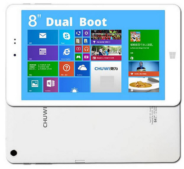 tablet dual boot barata chuwi hi8-1