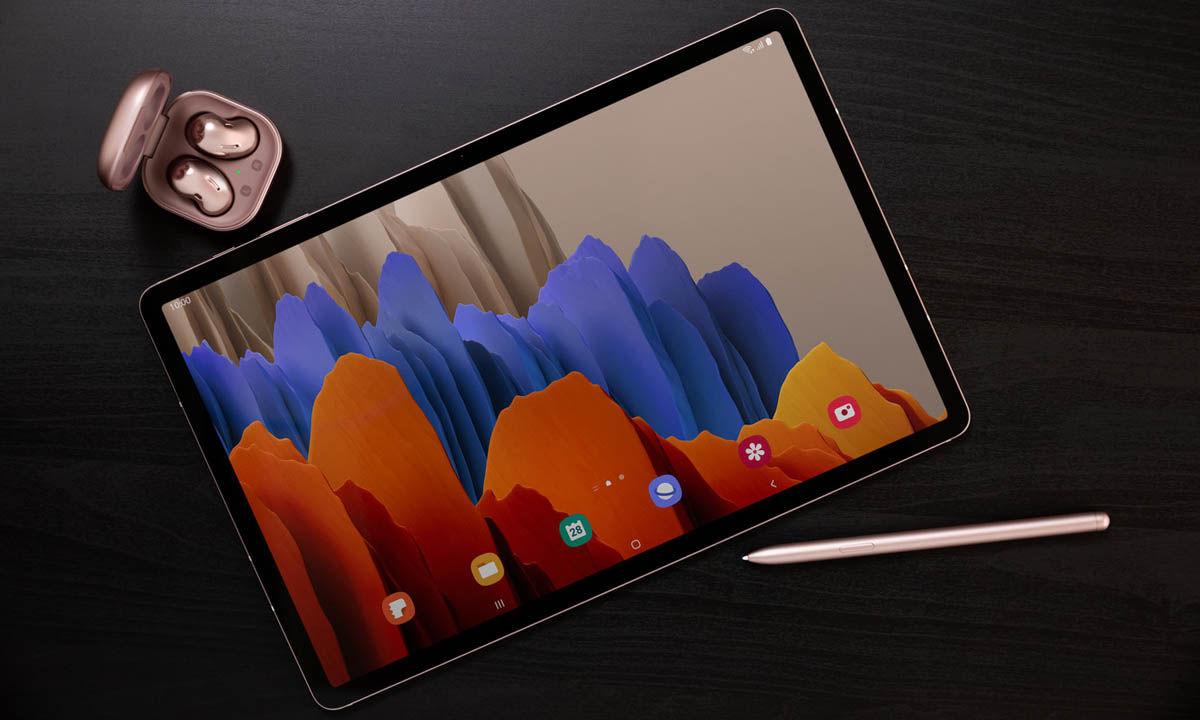 tablet potente para trabajar galaxy tab s7