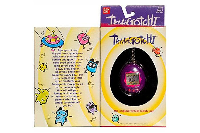 Tamagotchi caja original Bandai