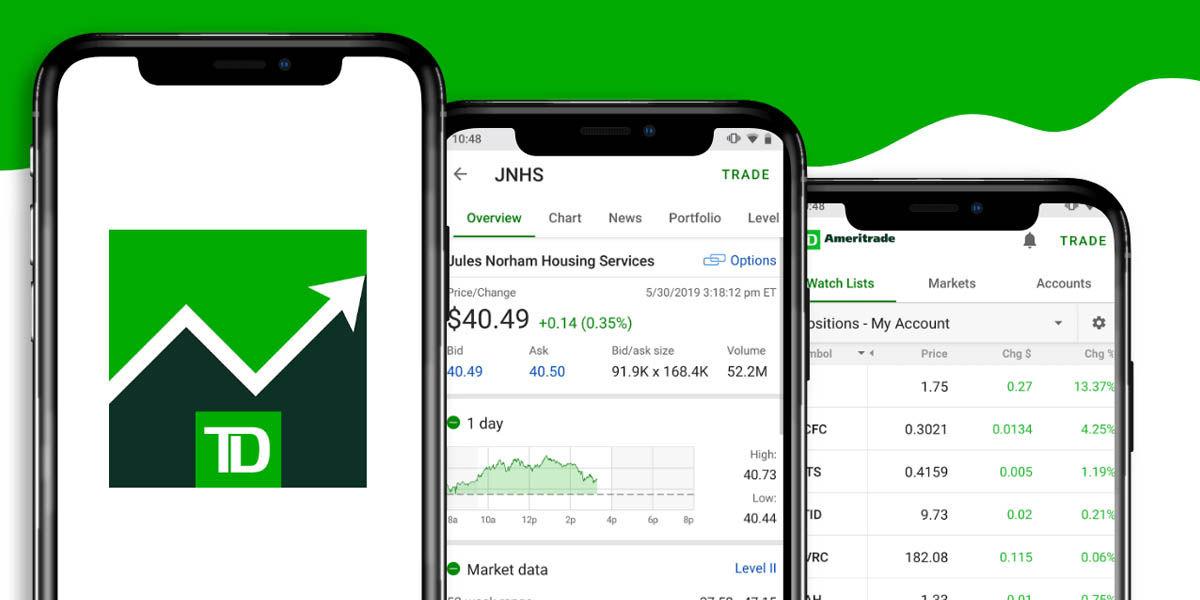 td ameritrade app comprar acciones móviles