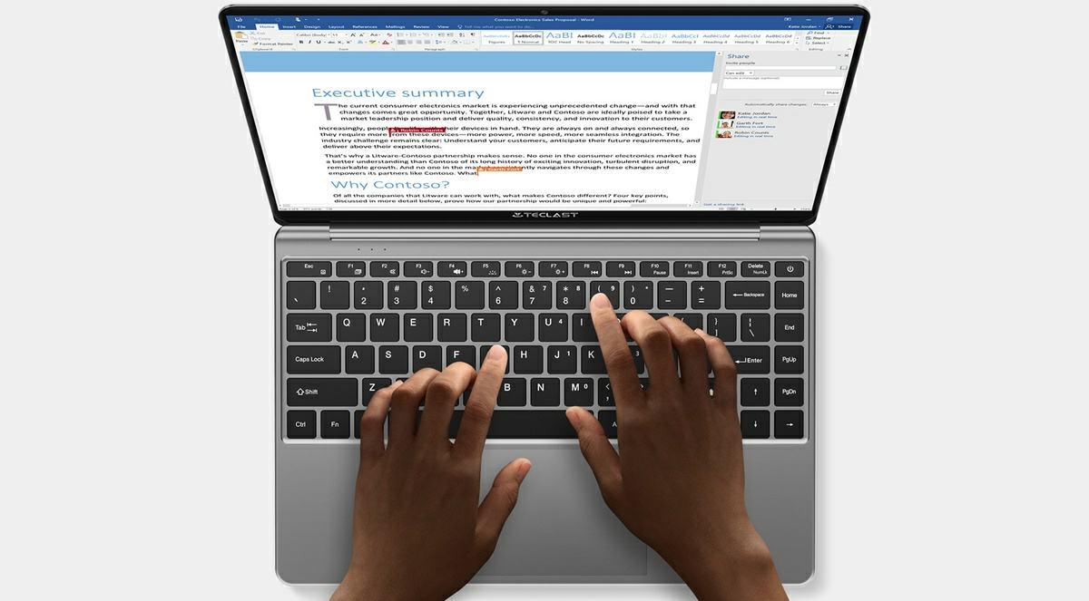teclast f7s un portatil perfecto para tareas de ofimatica