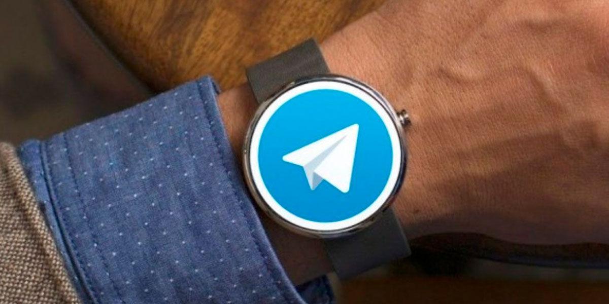 telegram desaparece wear os