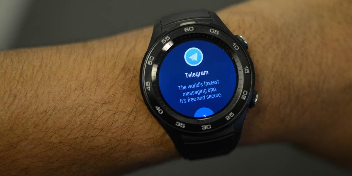 telegram para relojes inteligentes