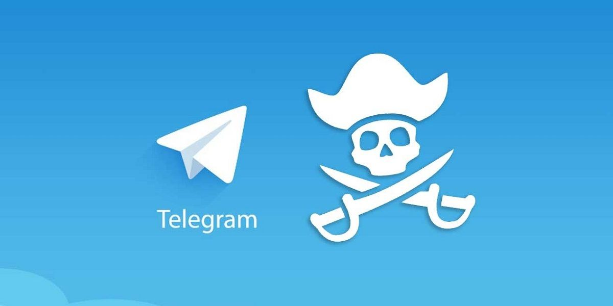 telegram piratería