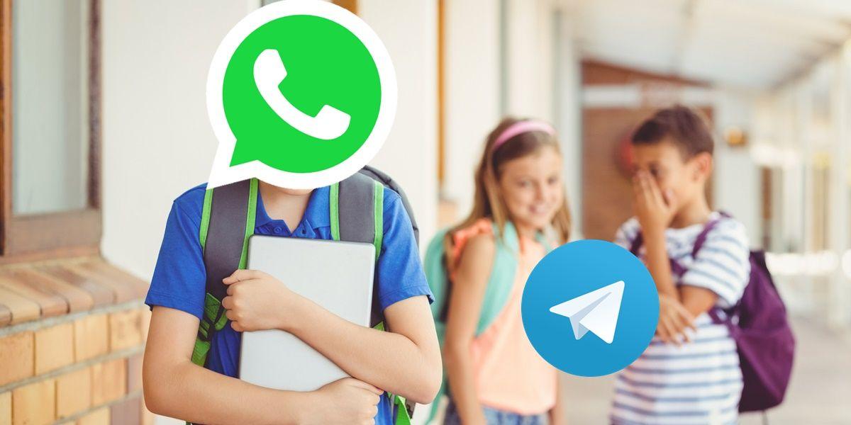 telegram se burla whatsapp