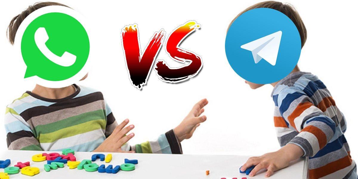 telegram whatsapp vs pelea