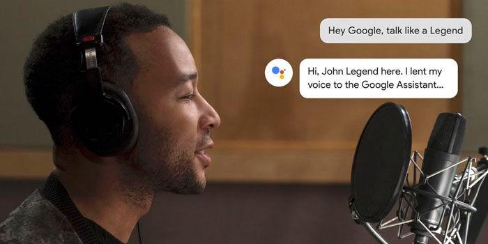 tener voz john legend google assistant