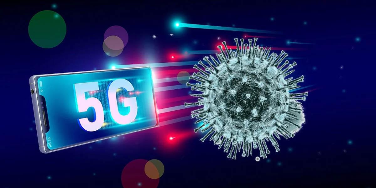 teoría conspirativa falsa el 5g no transmite el coronavirus