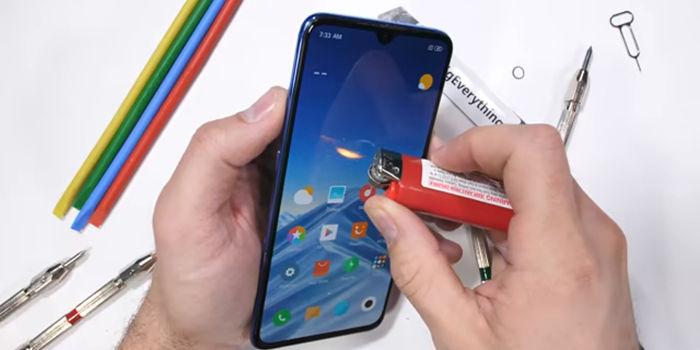 test de resistencia Xiaomi Mi 9