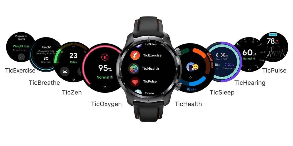 ticwatch pro 3 funciones