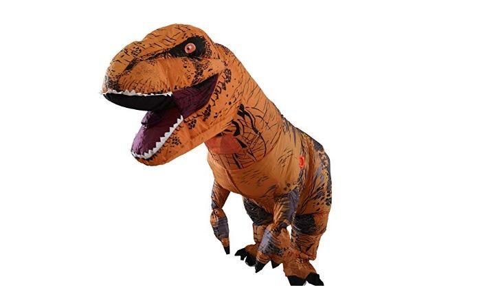 tiranosaurio rex disfraz
