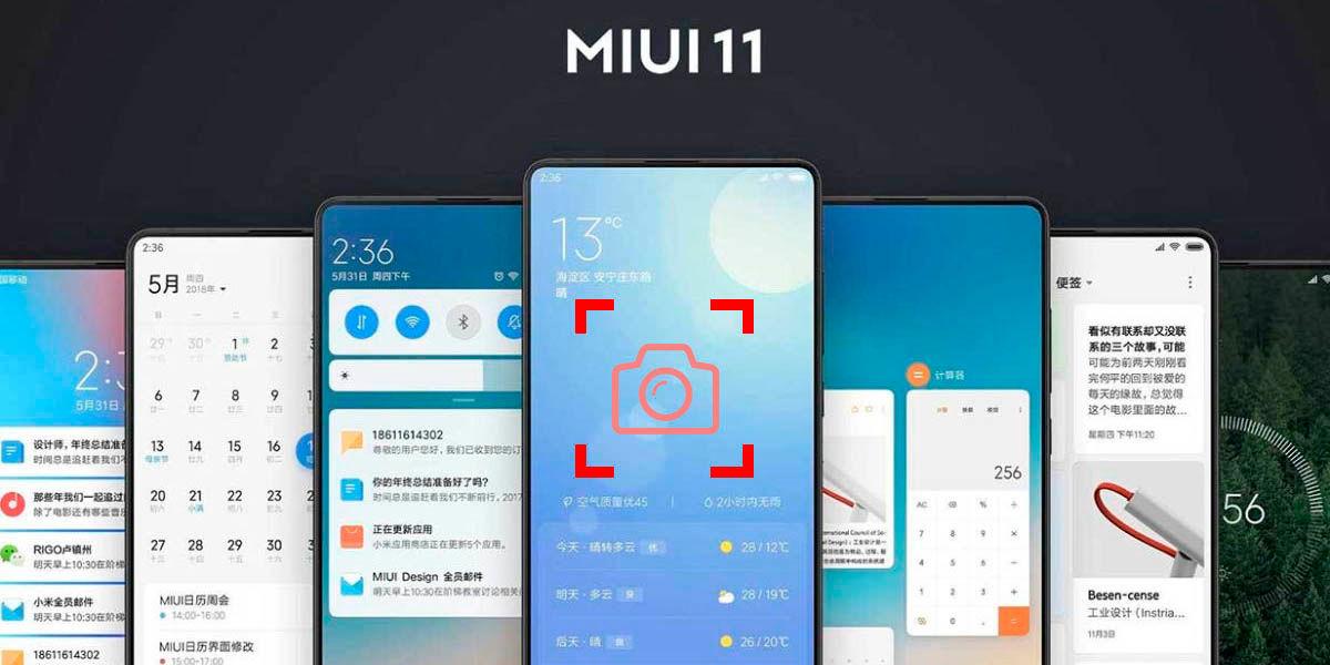 todo lo que puedes hacer con las capturas de pantalla de MIUI 11
