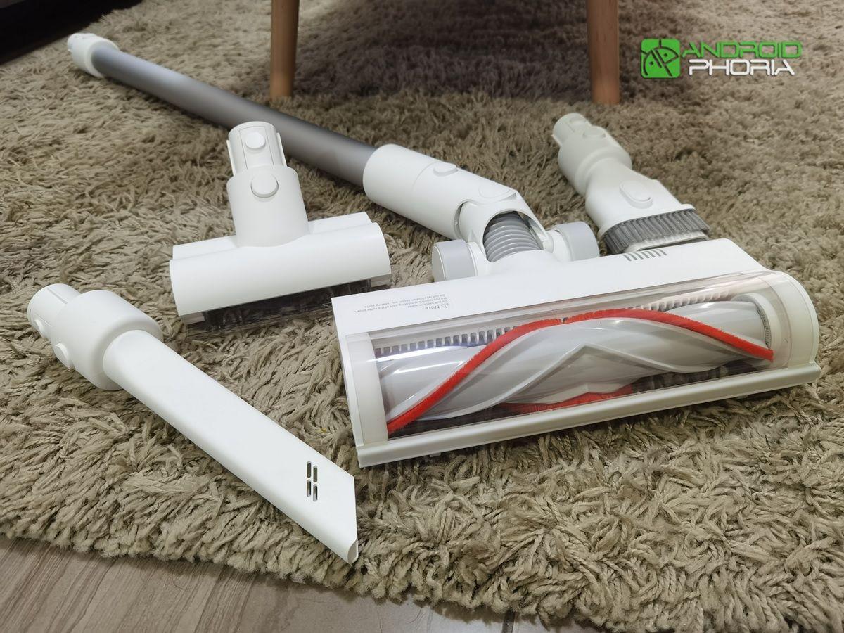 todos los cabezales de la Xiaomi Mi Vacuum Cleaner G9