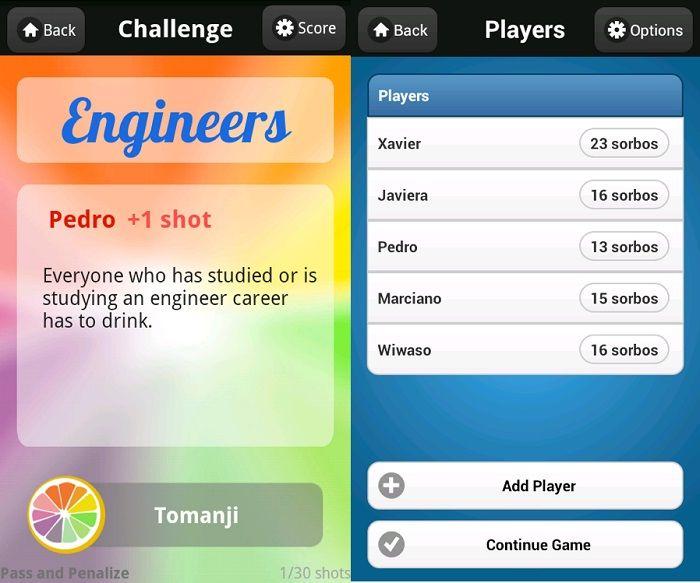 tomanji juego android para fiestas