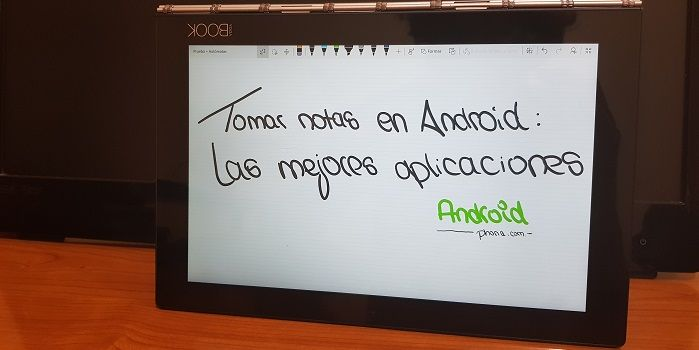 tomar apuntes en android