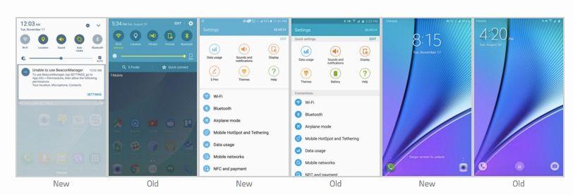 Touchwiz para Android 6.0