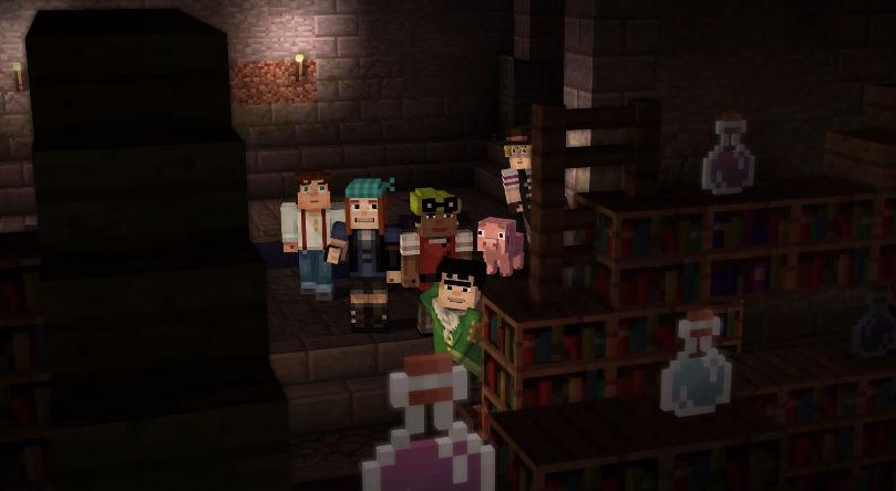 El modo historia de Minecraft en Google Play el 15 de octubre