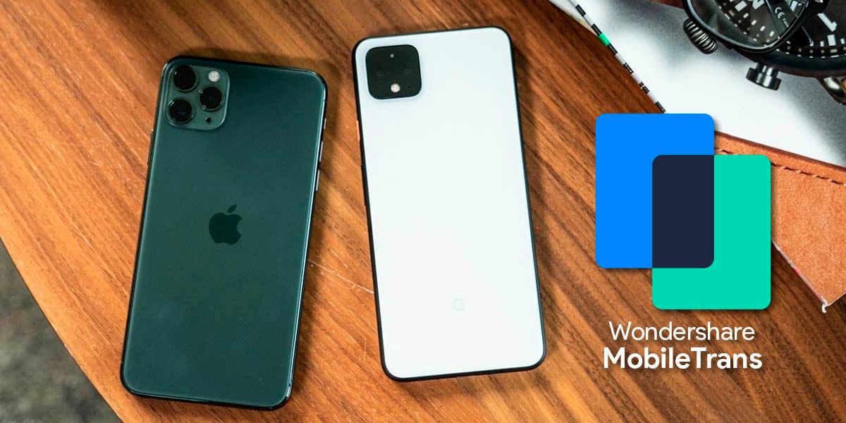 transferir datos de android iphone mobiletrans