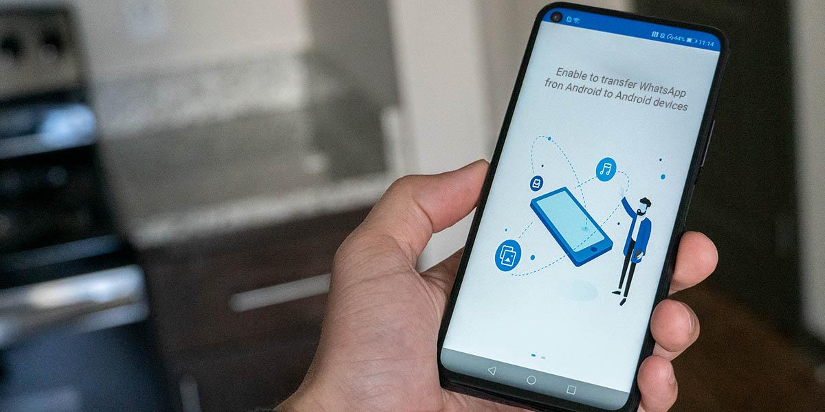 transferir whatsapp de un android a otro con mobiletrans de wondershare