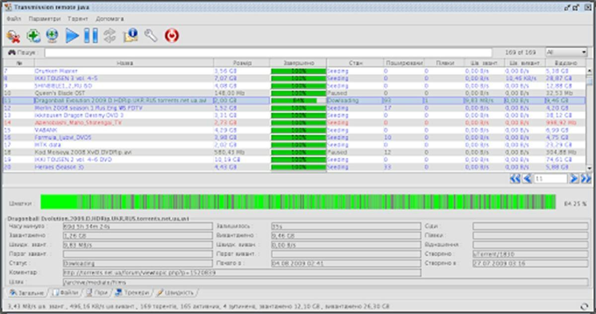 transmission app para descargar torrents