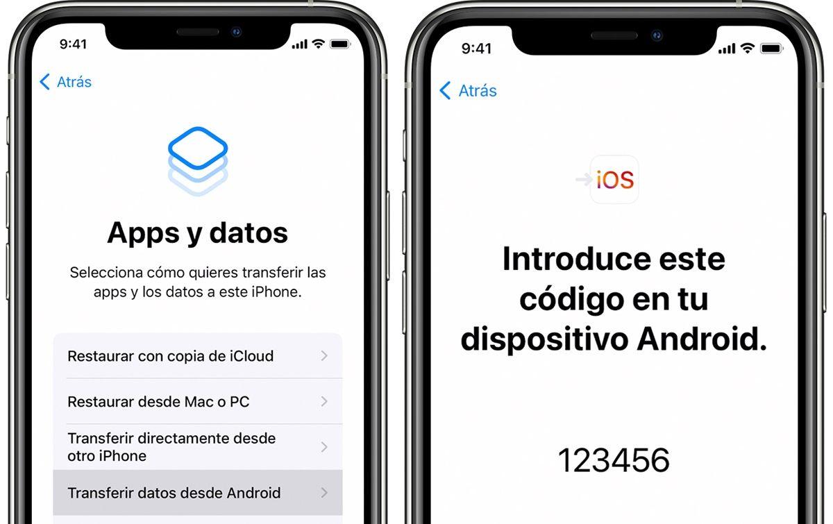 trasladar ios app oficial pasar archivos de android a iphone