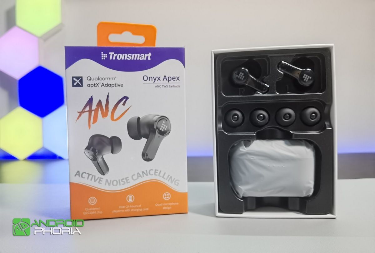 tronsmart onyx apex caja y accesorios