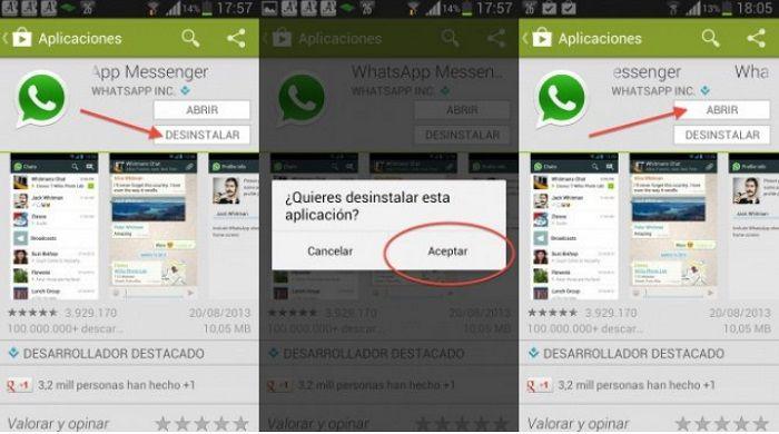 recuperar los mensajes de WhatsApp
