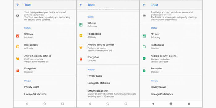 trust lineage os