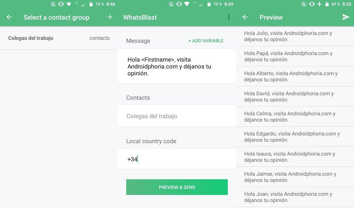 tutorial enviar mensajes masivos whatsapp