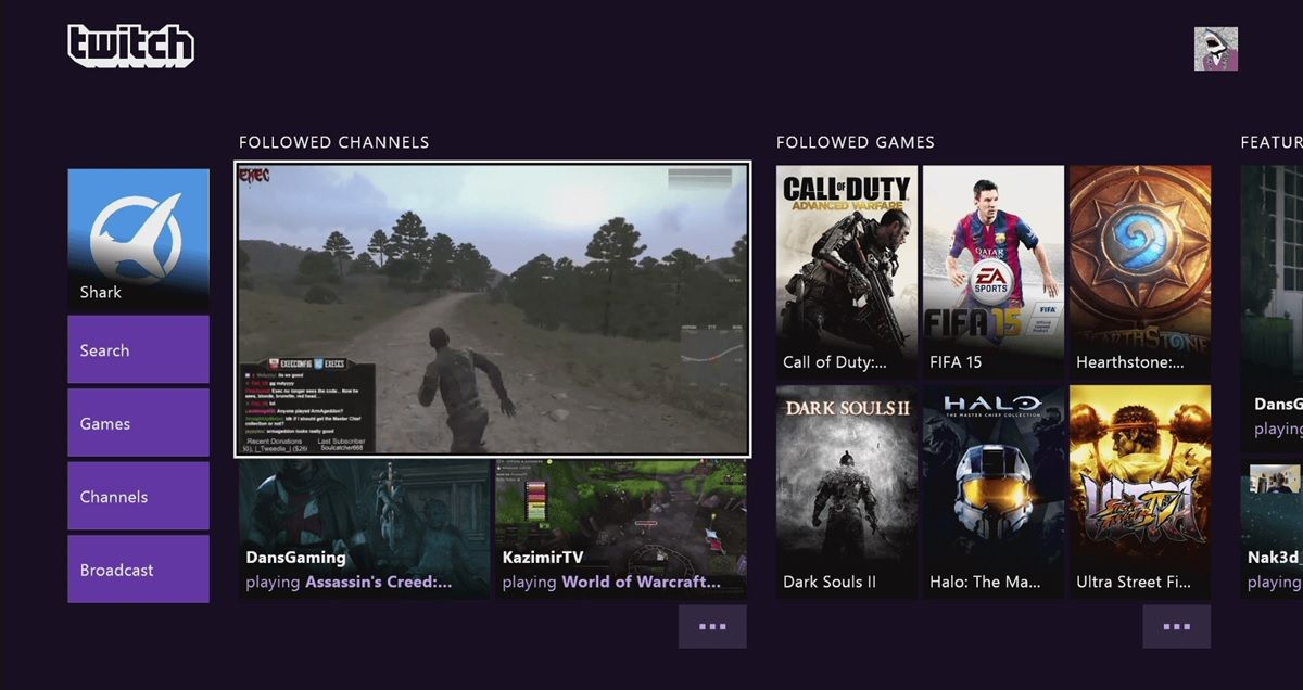 twitch android tv